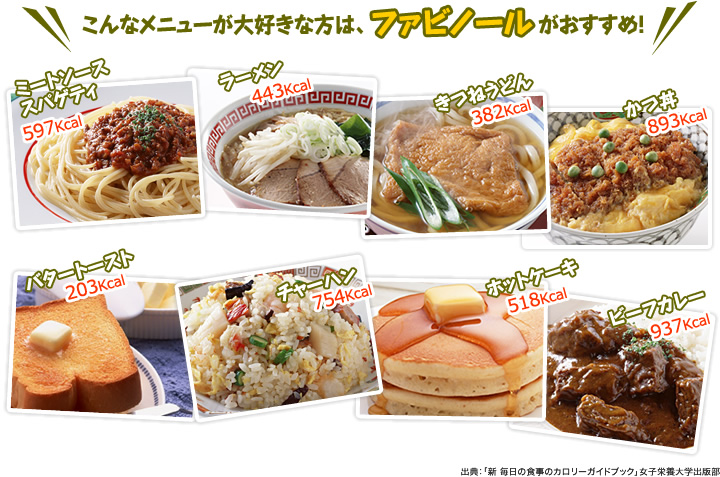 If you love this menu, Fabinol recommends it!