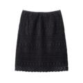 【送料無料】【SALE】スカラップレーススカート