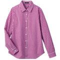 【SALE】コットンレギュラーカラー2wayシャツ【3,000円以上送料無料】