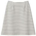 【SALE】ボーダーAラインスカート【3,000円以上送料無料】