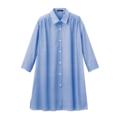 【送料無料】【SALE】ファブリックbyイタリー・7分袖ロングシャツ