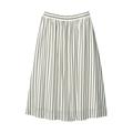 【送料無料】【SALE】イージーケア・ストライプスカート