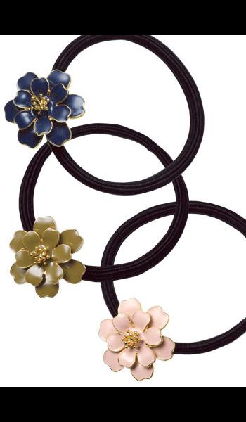 <DHC>ヘアゴム(花)画像