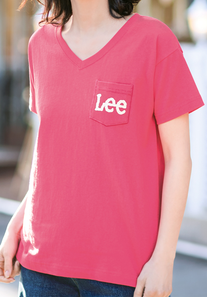 <DHC>Lee×DHC・ポケットロゴTシャツ画像