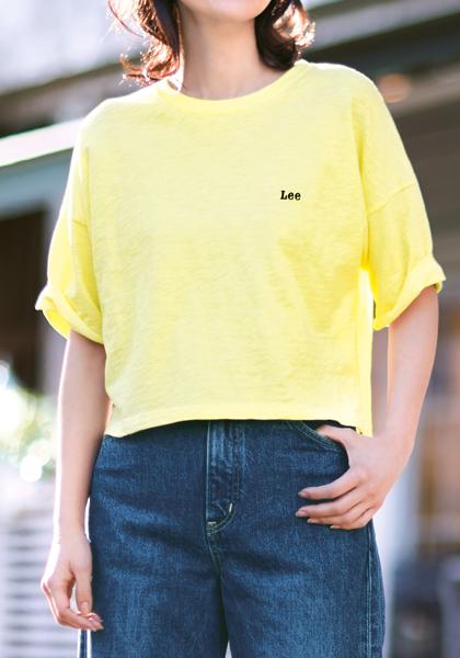 <DHC>Lee×DHC・ショートTシャツ画像