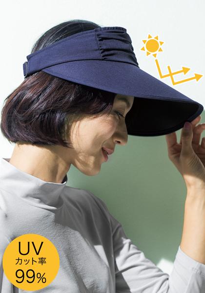 <DHC>UV美肌・くるくるセルバイザー画像