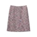 【送料無料】【SALE】カラーツイードスカート