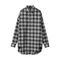 【SALE】やわらかコットンウール・ビッグシャツ【3,000円以上送料無料】