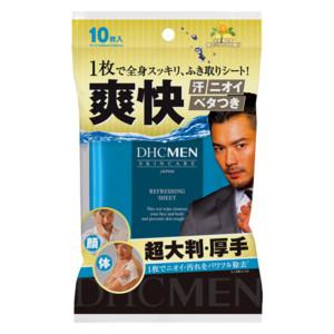 DHC MEN リフレッシングシート<ふき取り用化粧水>