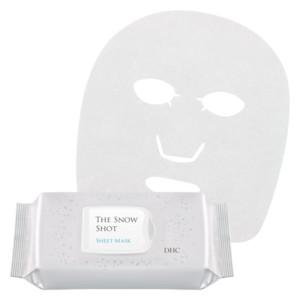 DHCザ スノー ショット シートマスク