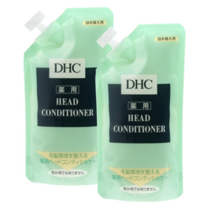 DHC薬用ヘッドコンディショナー 詰め替え用 2個セット