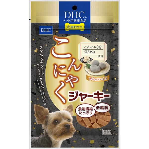 <DHC>犬用 こんにゃくジャーキー画像