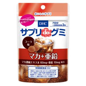 サプリdeグミ マカ+亜鉛 コーラ味 7日分