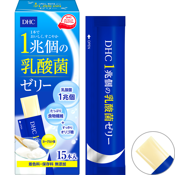 <DHC>DHC 1兆個の乳酸菌ゼリー