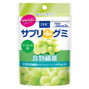 サプリdeグミ 食物繊維 マスカット味 7日分