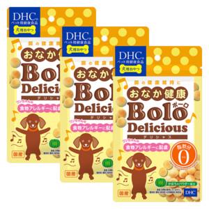 犬用 国産 おなか健康ボーロ デリシャス 3個セット