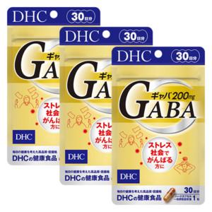 ギャバ(GABA) 30日分 3個セット