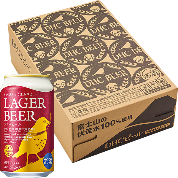 DHCラガービール 350ml×24缶