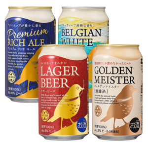 ビール 4缶飲み比べセット
