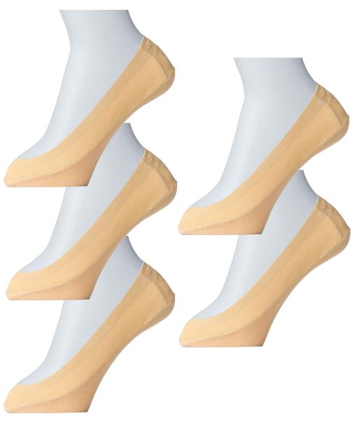 <DHC>【限定】ぬげにくい足底綿混フットカバー5足セット