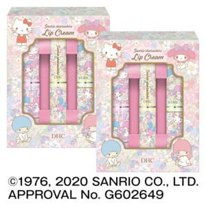 【WEB限定】薬用リップクリーム[サンリオキャラクターズ] 3本入 フラワー 2個セット
