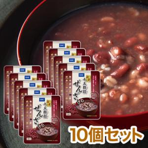 【WEB限定】DHC国産十五雑穀ぜんざい 10個セット