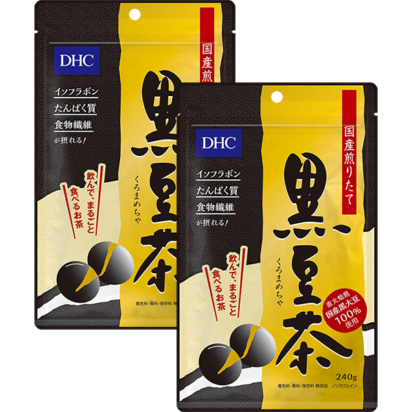 <DHC>DHC国産煎りたて黒豆茶 2個セット画像