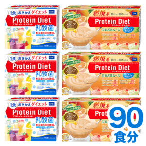 【WEB限定】プロティンダイエット 乳酸菌+ムース 6個セット