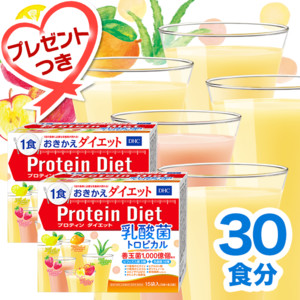 プロティンダイエット 乳酸菌トロピカル 2個セット(プレゼント付き)