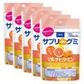 サプリdeグミ マルチビタミン グレープフルーツ味 7日分 5個セット